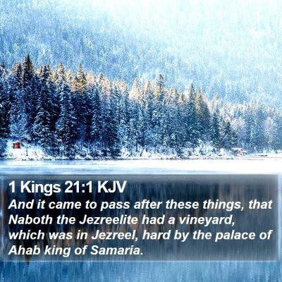 1 Kings 21:1 KJV Bible Verse Image
