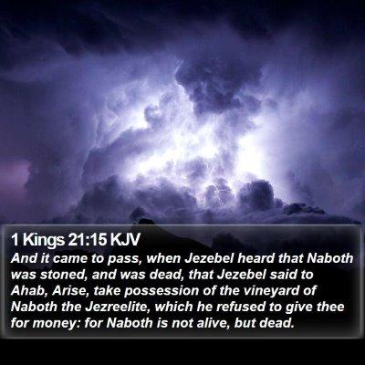 1 Kings 21:15 KJV Bible Verse Image