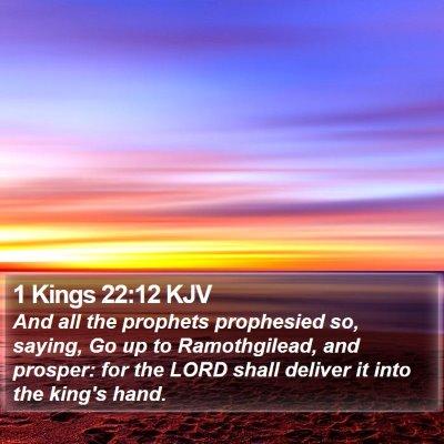 1 Kings 22:12 KJV Bible Verse Image