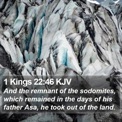 1 Kings 22:46 KJV Bible Verse Image