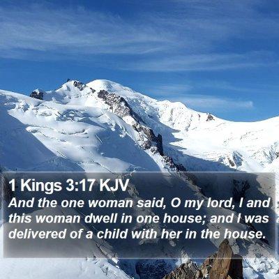1 Kings 3:17 KJV Bible Verse Image