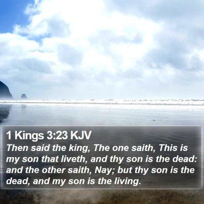 1 Kings 3:23 KJV Bible Verse Image