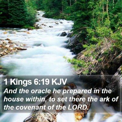 1 Kings 6:19 KJV Bible Verse Image