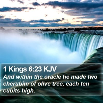 1 Kings 6:23 KJV Bible Verse Image