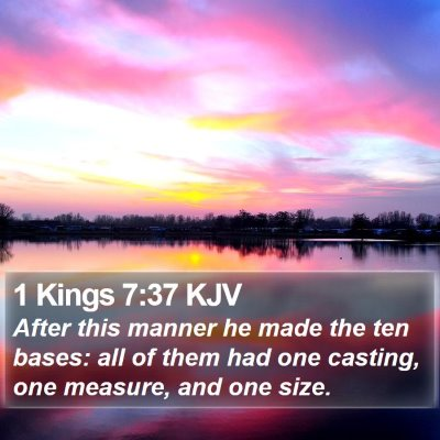 1 Kings 7:37 KJV Bible Verse Image