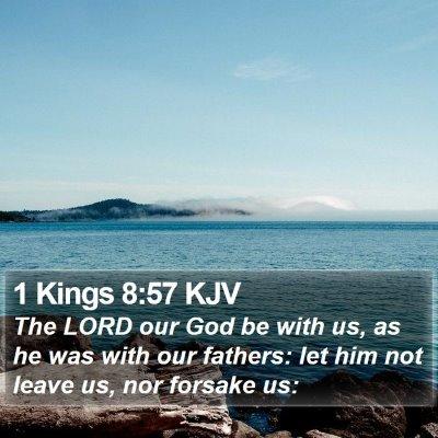 1 Kings 8:57 KJV Bible Verse Image