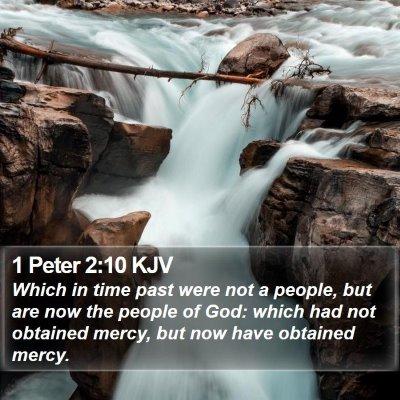 1 Peter 2:10 KJV Bible Verse Image