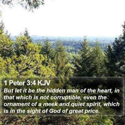 1 Peter 3:4 KJV Bible Verse Image
