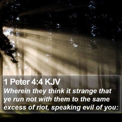 1 Peter 4:4 KJV Bible Verse Image