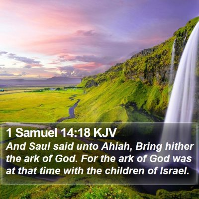 1 Samuel 14:18 KJV Bible Verse Image