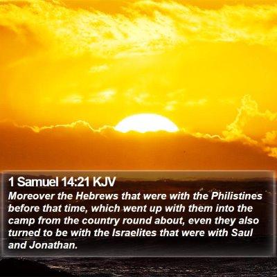 1 Samuel 14:21 KJV Bible Verse Image