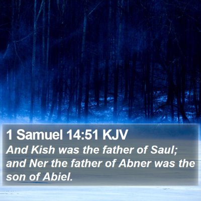 1 Samuel 14:51 KJV Bible Verse Image