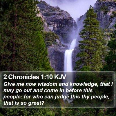 2 Chronicles 1:10 KJV Bible Verse Image