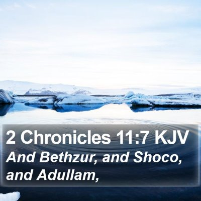 2 Chronicles 11:7 KJV Bible Verse Image