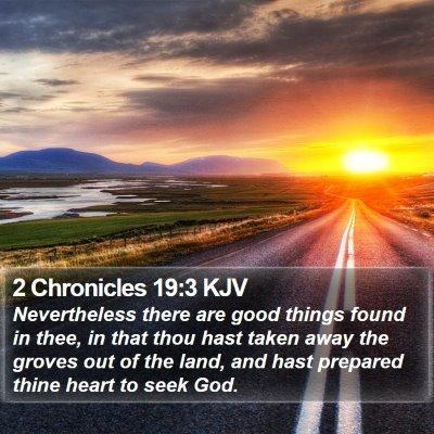2 Chronicles 19:3 KJV Bible Verse Image