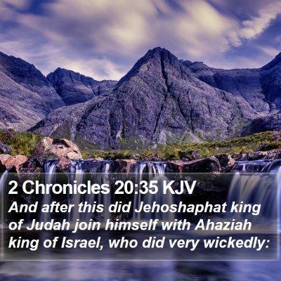 2 Chronicles 20:35 KJV Bible Verse Image