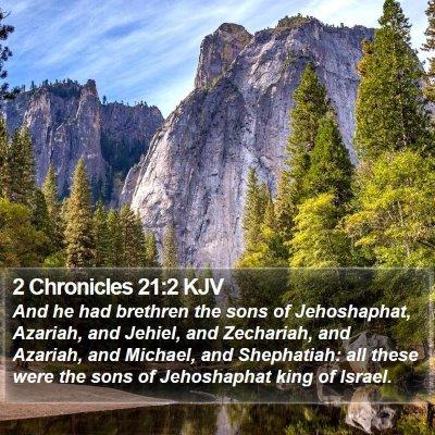 2 Chronicles 21:2 KJV Bible Verse Image
