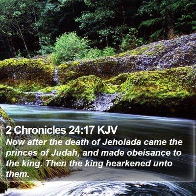 2 Chronicles 24:17 KJV Bible Verse Image