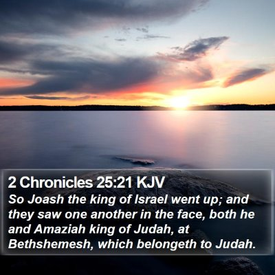 2 Chronicles 25:21 KJV Bible Verse Image