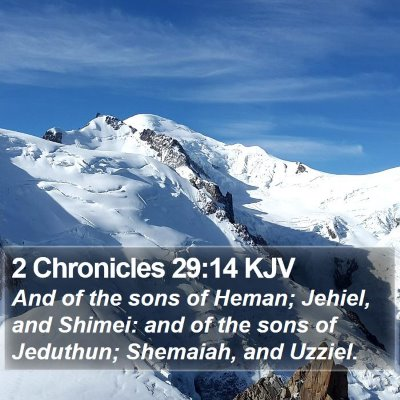 2 Chronicles 29:14 KJV Bible Verse Image