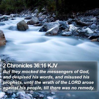 2 Chronicles 36:16 KJV Bible Verse Image