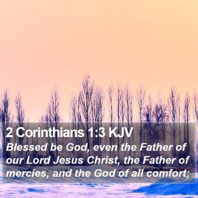 2 Corinthians 1:3 KJV Bible Verse Image