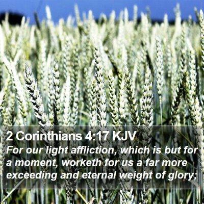2 Corinthians 4:17 KJV Bible Verse Image