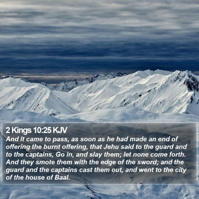 2 Kings 10:25 KJV Bible Verse Image