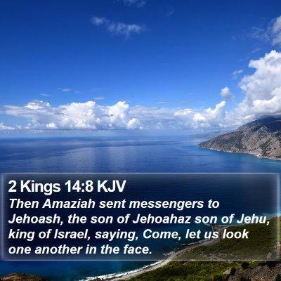 2 Kings 14:8 KJV Bible Verse Image