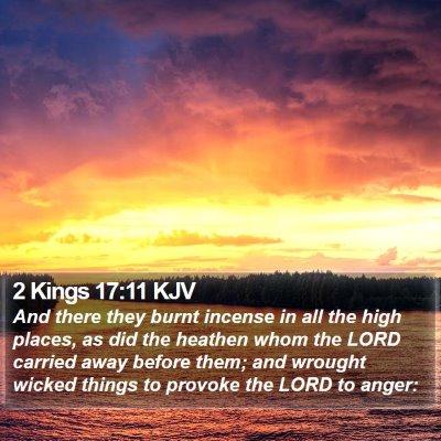 2 Kings 17:11 KJV Bible Verse Image