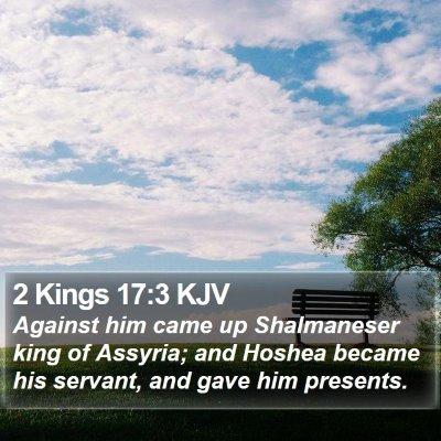 2 Kings 17:3 KJV Bible Verse Image