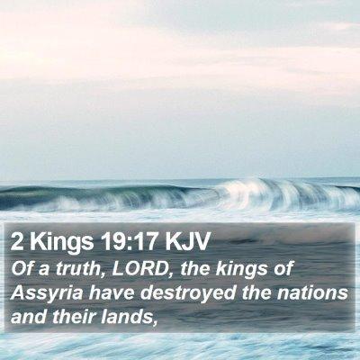 2 Kings 19:17 KJV Bible Verse Image