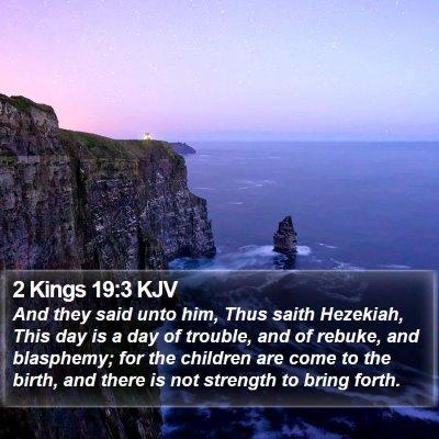 2 Kings 19:3 KJV Bible Verse Image