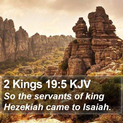 2 Kings 19:5 KJV Bible Verse Image