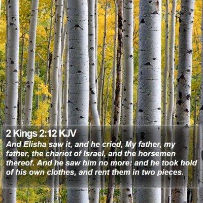2 Kings 2:12 KJV Bible Verse Image