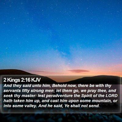2 Kings 2:16 KJV Bible Verse Image