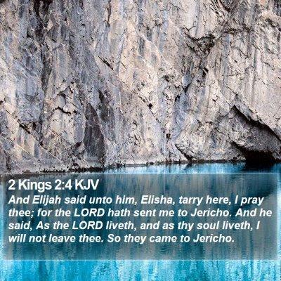 2 Kings 2:4 KJV Bible Verse Image