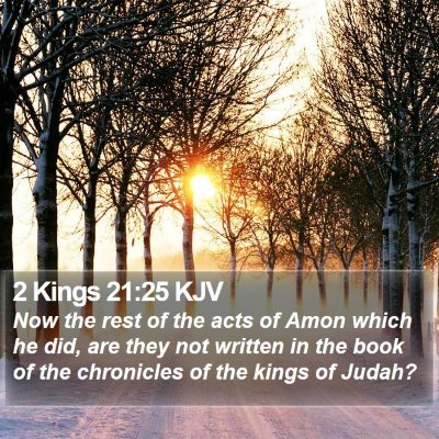 2 Kings 21:25 KJV Bible Verse Image
