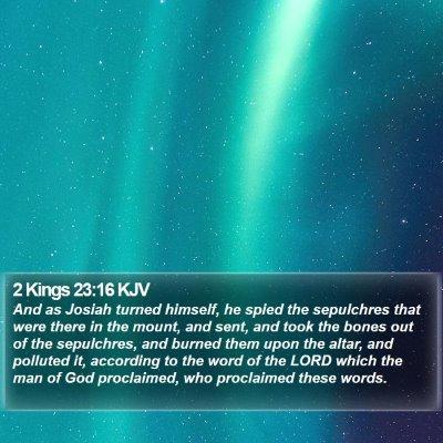 2 Kings 23:16 KJV Bible Verse Image