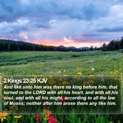 2 Kings 23:25 KJV Bible Verse Image