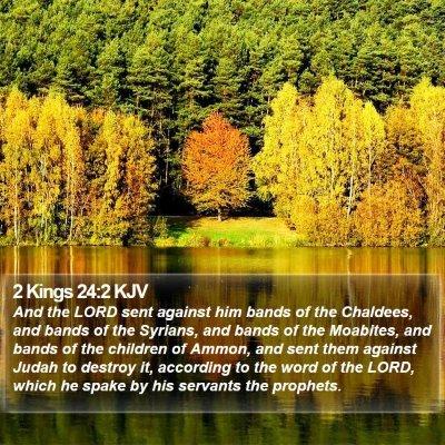 2 Kings 24:2 KJV Bible Verse Image