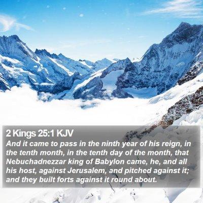 2 Kings 25:1 KJV Bible Verse Image