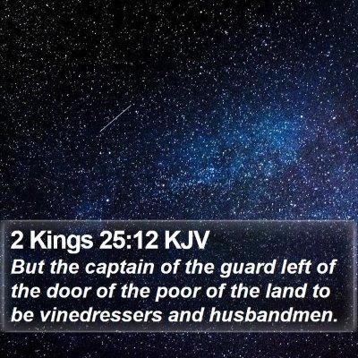 2 Kings 25:12 KJV Bible Verse Image