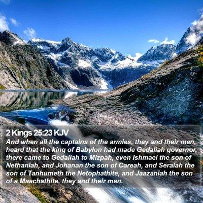 2 Kings 25:23 KJV Bible Verse Image