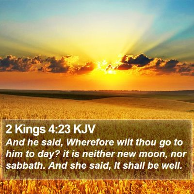2 Kings 4:23 KJV Bible Verse Image