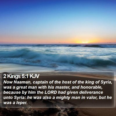 2 Kings 5:1 KJV Bible Verse Image