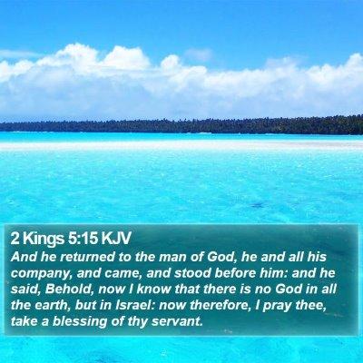 2 Kings 5:15 KJV Bible Verse Image