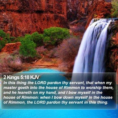 2 Kings 5:18 KJV Bible Verse Image