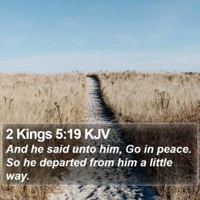 2 Kings 5:19 KJV Bible Verse Image