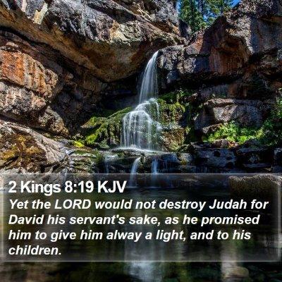 2 Kings 8:19 KJV Bible Verse Image